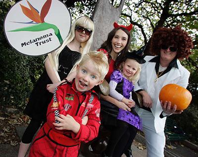 Go ga-ga for the Melanoma Trust on Halloween!