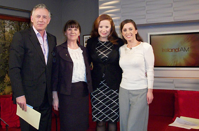 Bernie Rice on Ireland AM